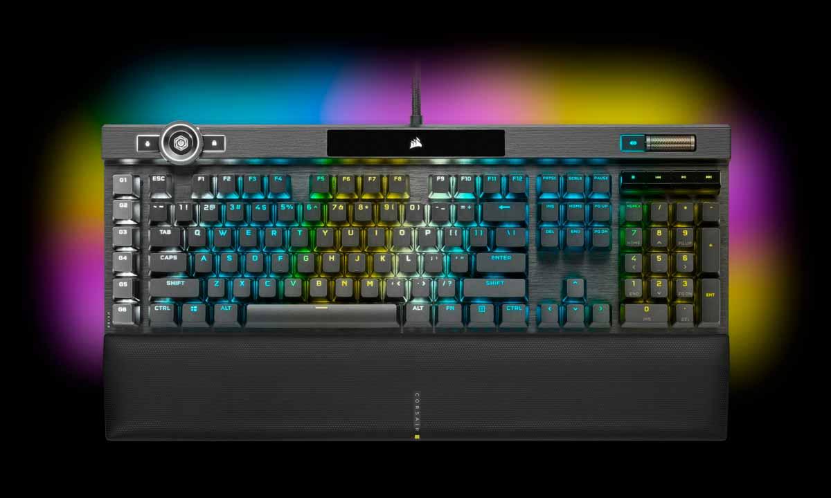 K100 OPTICO MECANICO RGB - CORSAIR