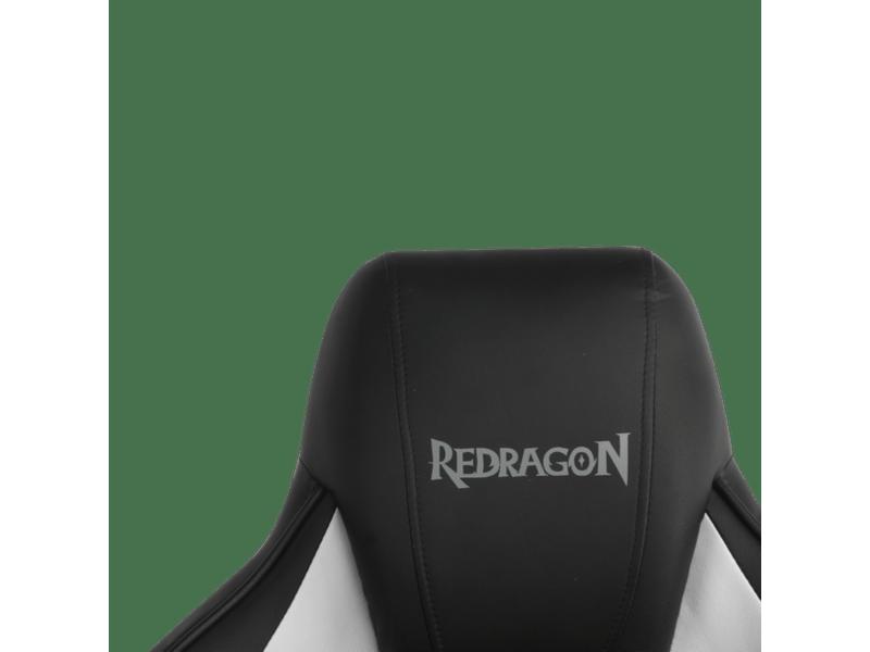 SILLA CAPRICORNUS WHITE / BLACK - REDRAGON