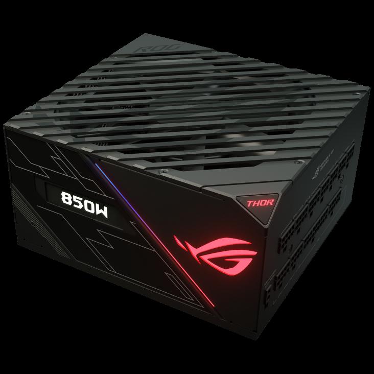 FUENTE REAL 850W ROG THOR PLATINUM RGB - ASUS
