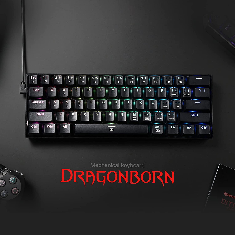DRAGON BORN RGB MECANICO - REDRAGON