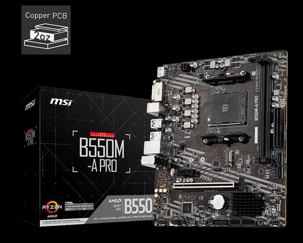 B550M-A PRO - MSI / AMD RYZEN