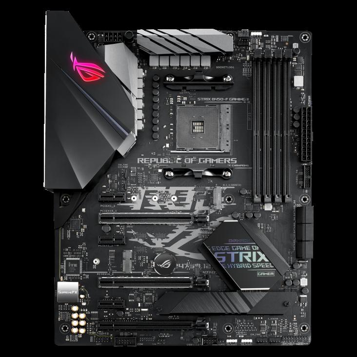 B450-F ROG STRIX GAMING II - ASUS / AMD RYZEN