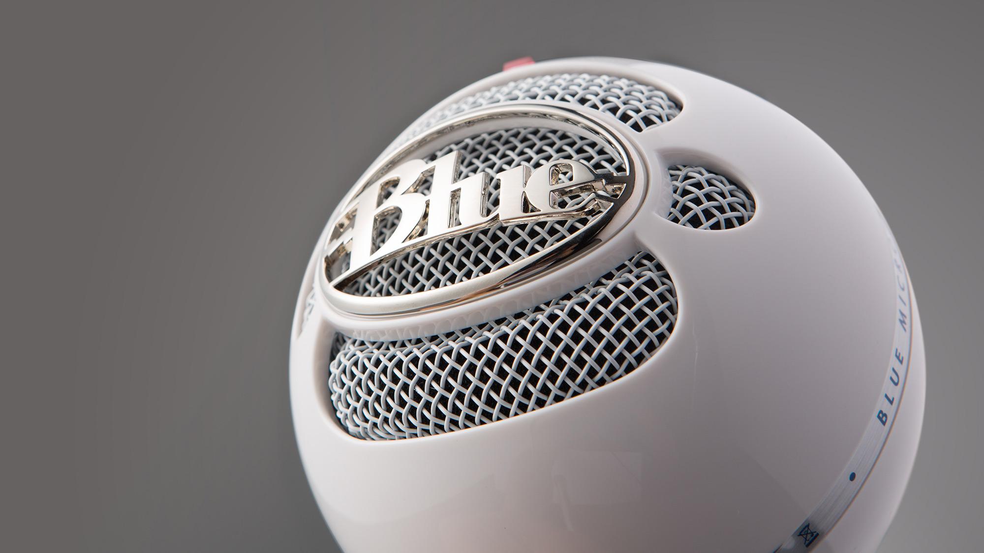 MICROFONO SNOWBALL  WHITE - BLUE