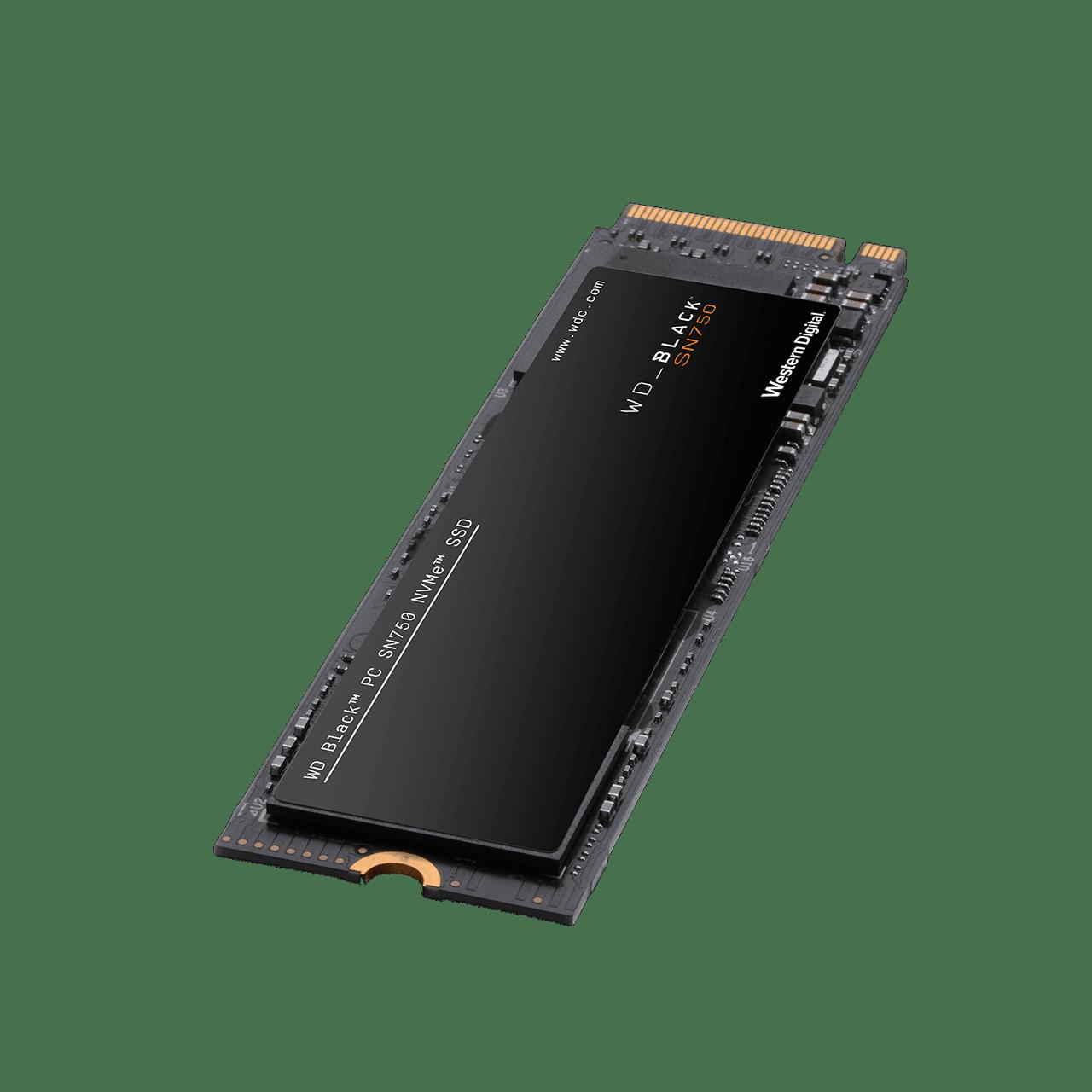 SOLIDO (M2) NVMe  500GB BLACK 750 - WESTERN DIGITAL