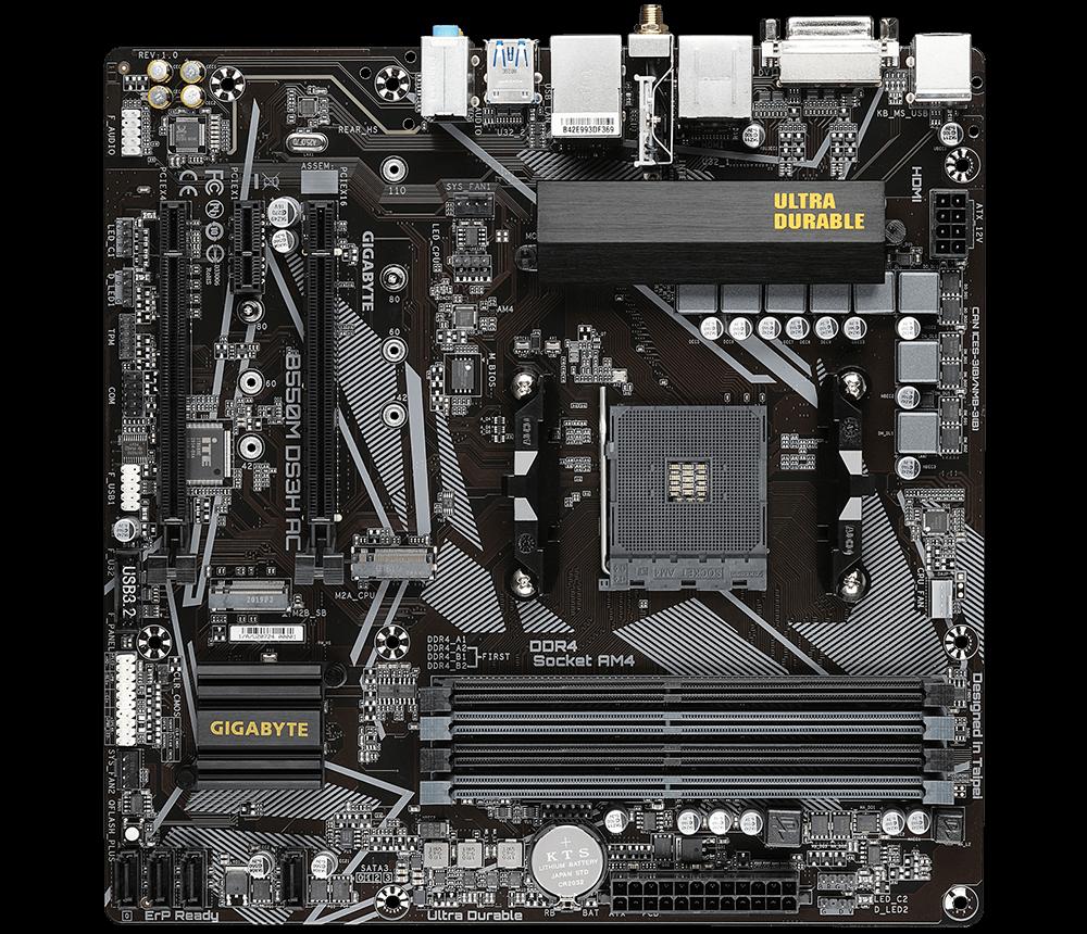B550M DS3H AC - GIGABYTE / AMD RYZEN