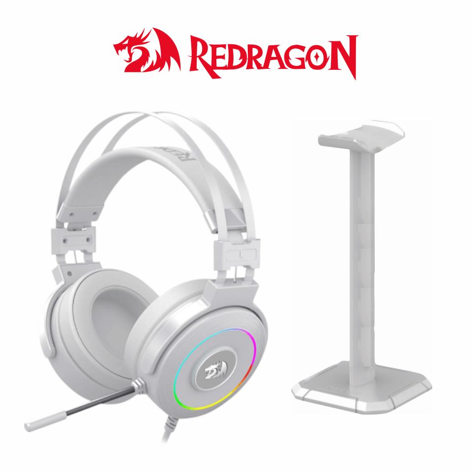 RGB LAMIA WHITE 2 USB + BASE - REDRAGON