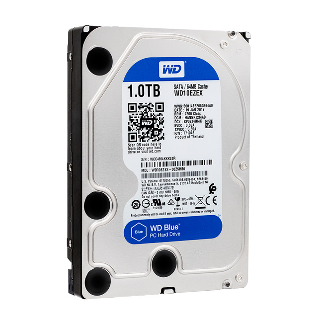 DISCO 1 TERA PC / 64MB / 7200RPM - WENSTERN DIGITAL