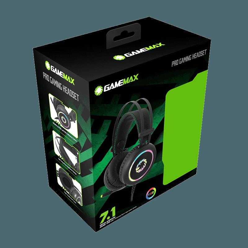DIADEMA GAMER 7.1 GAMEMAX RGB
