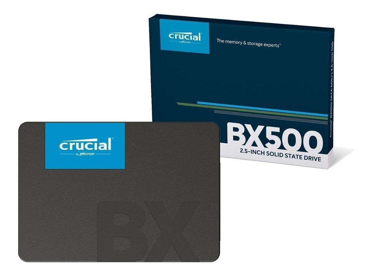 SOLIDO SATA (SSD) 480GB - CRUCIAL BX500