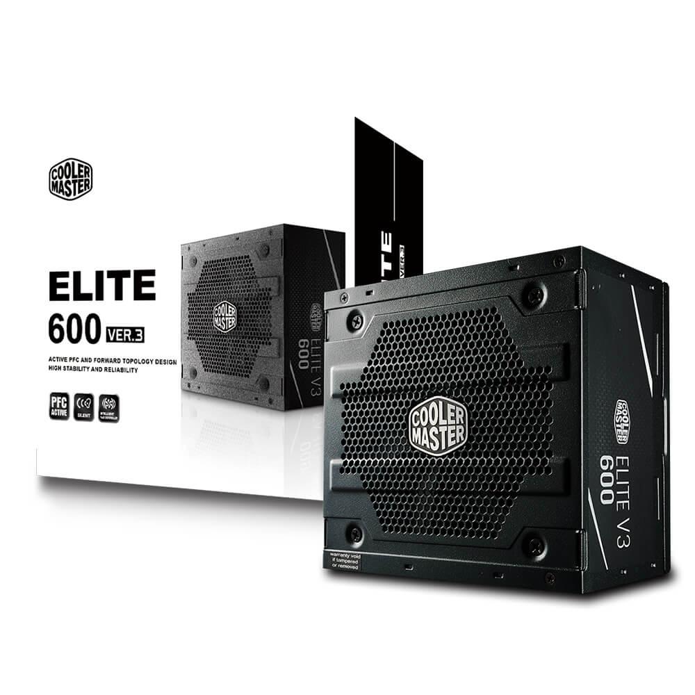 FUENTE REAL 600W ELITE V3 - COOLER MASTER