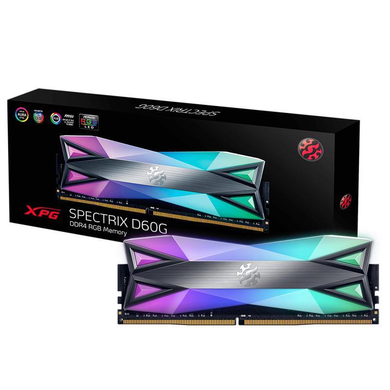MODULO 16GB (3200 MHZ) CRYSTAL D60 RGB - XPG