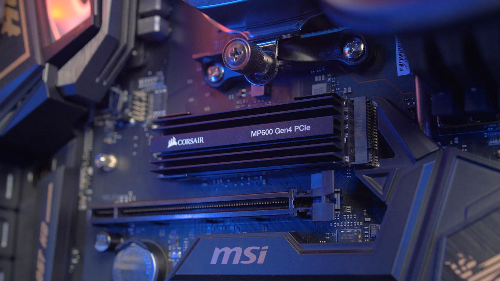 SOLIDO (M2) NVMe 500GB MP600 - CORSAIR
