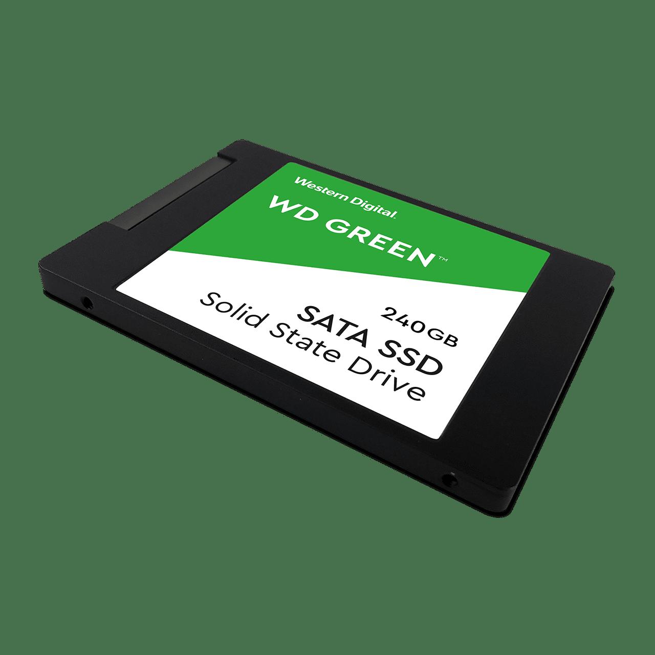 SOLIDO SATA (SSD) 240GB - WESTERN DIGITAL GREEN