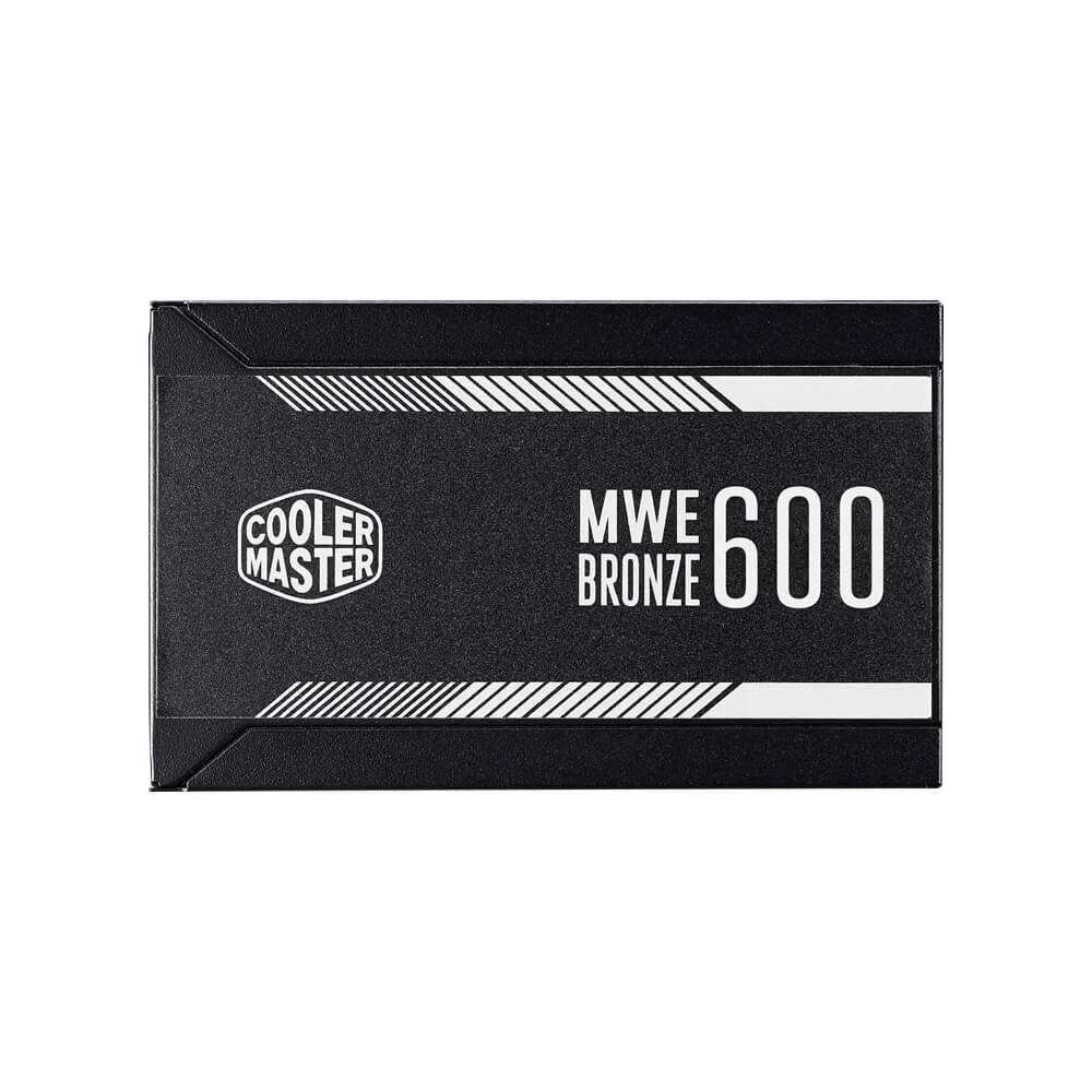 FUENTE REAL 600W 80PLUS BRONZE V2 - COOLER MASTER
