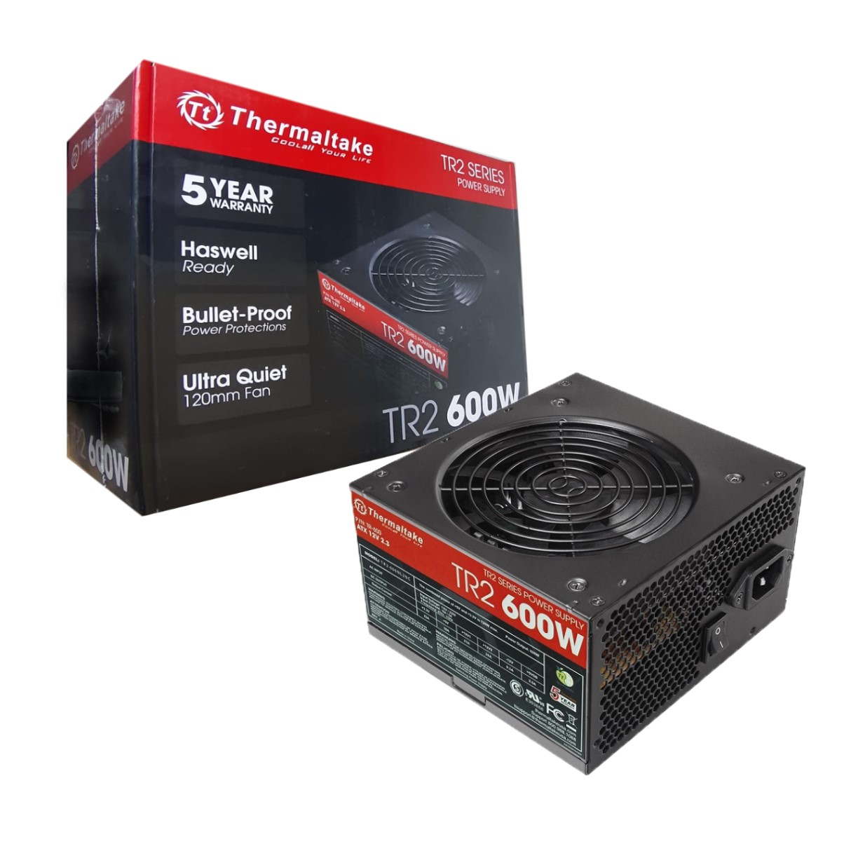 FUENTE REAL 600W TR2 - THERMALTAKE