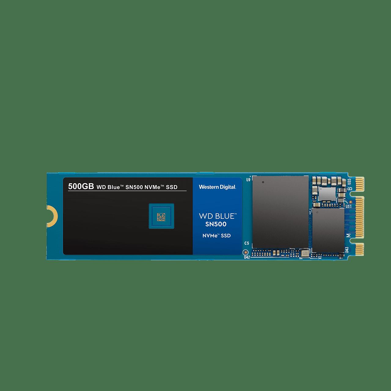 SOLIDO (M2) NVMe 500GB BLUE - WESTERN DIGITAL