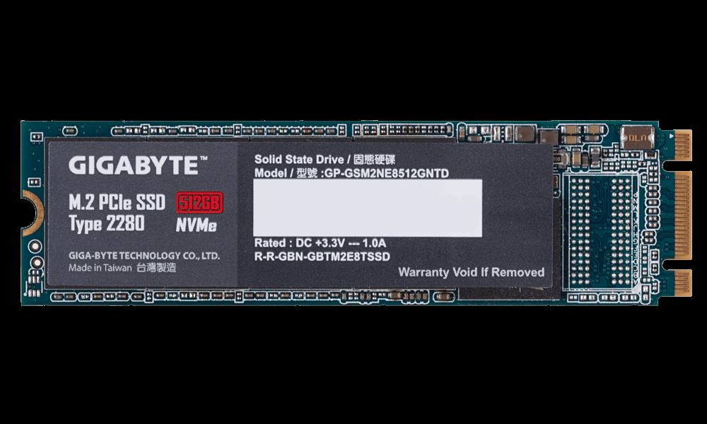 SOLIDO (M2) NVMe 512GB - GIGABYTE