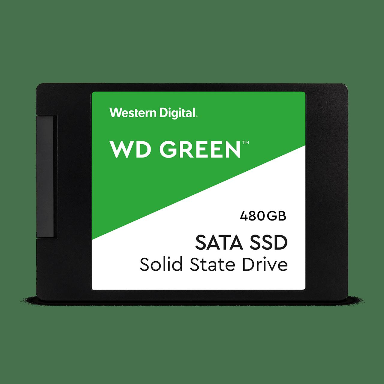 SOLIDO SATA (SSD) 480GB - WESTERN DIGITAL GREEN