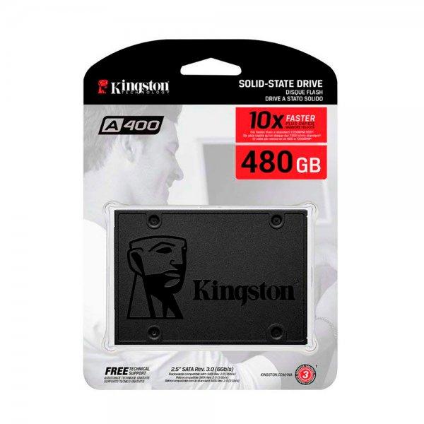 SOLIDO SATA (SSD) 480GB KINGSTON A400