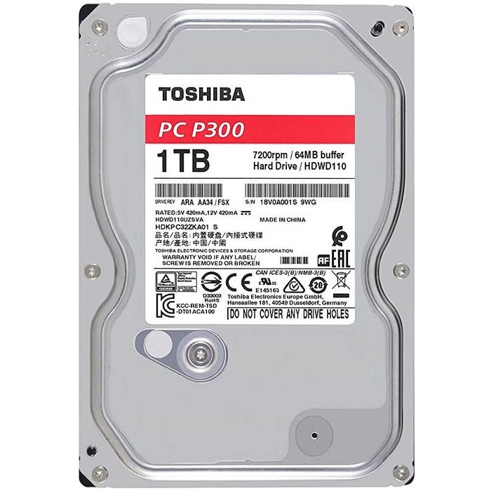 DISCO 1 TERA PC / 64MB / 7200RPM - TOSHIBA