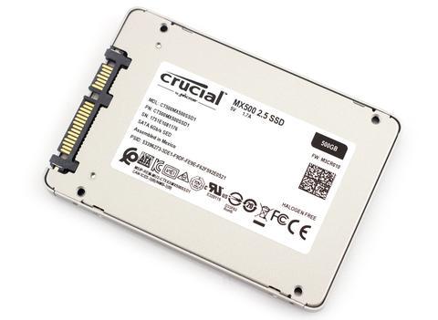 SOLIDO SATA 500GB MX500 - CRUCIAL