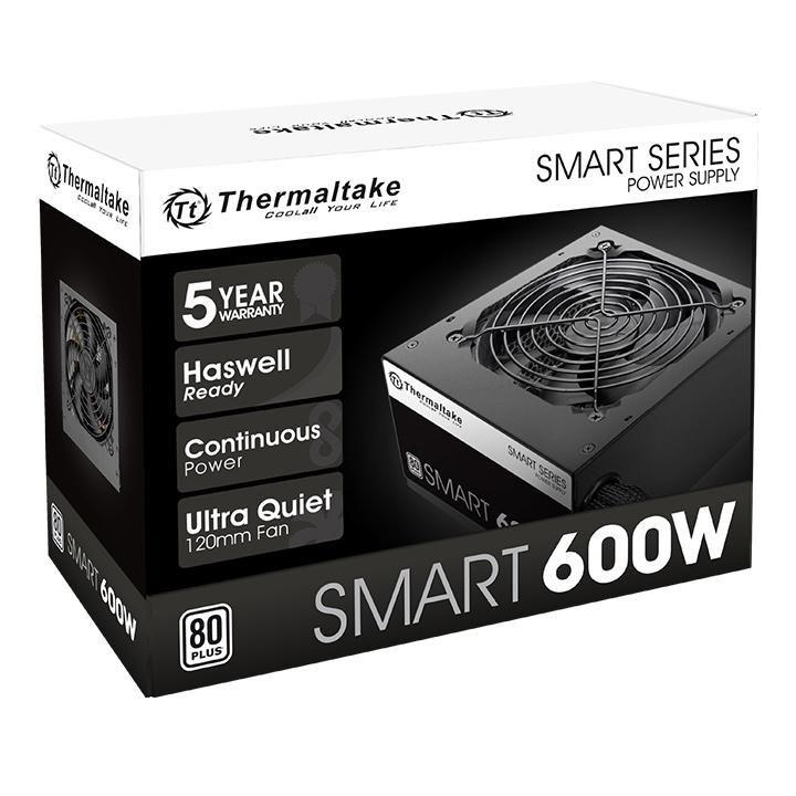 FUENTE REAL 600W 80P SMART - THERMALTAKE