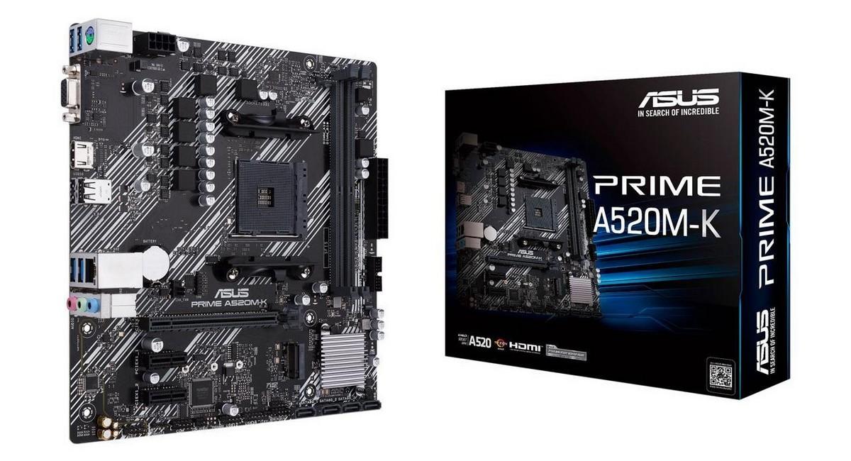 A520M-K PRIME - ASUS
