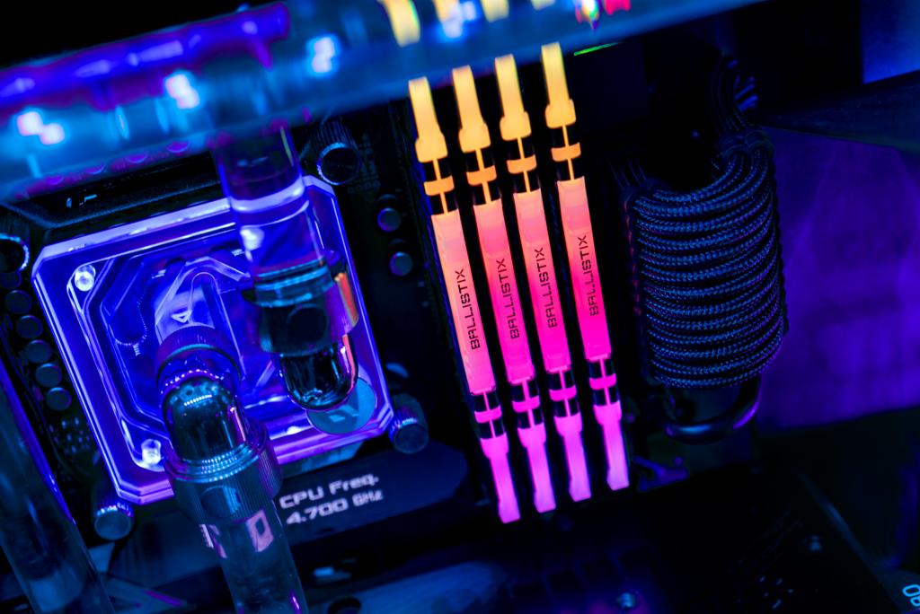 MODULO 8GB (3200 MHZ) BALLISTIX RGB - CRUCIAL