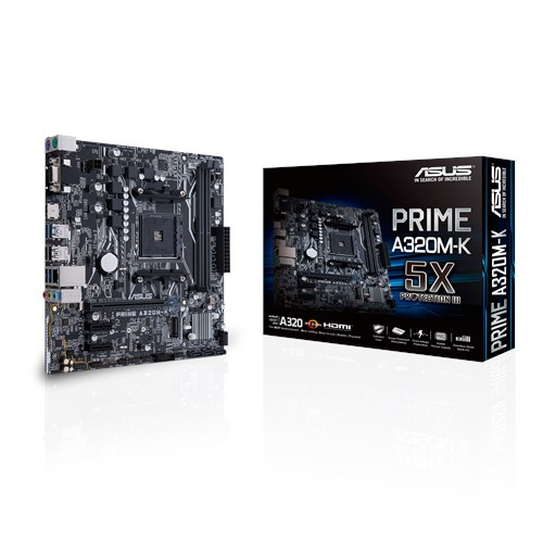 A320M-K PRIME - ASUS / AMD RYZEN