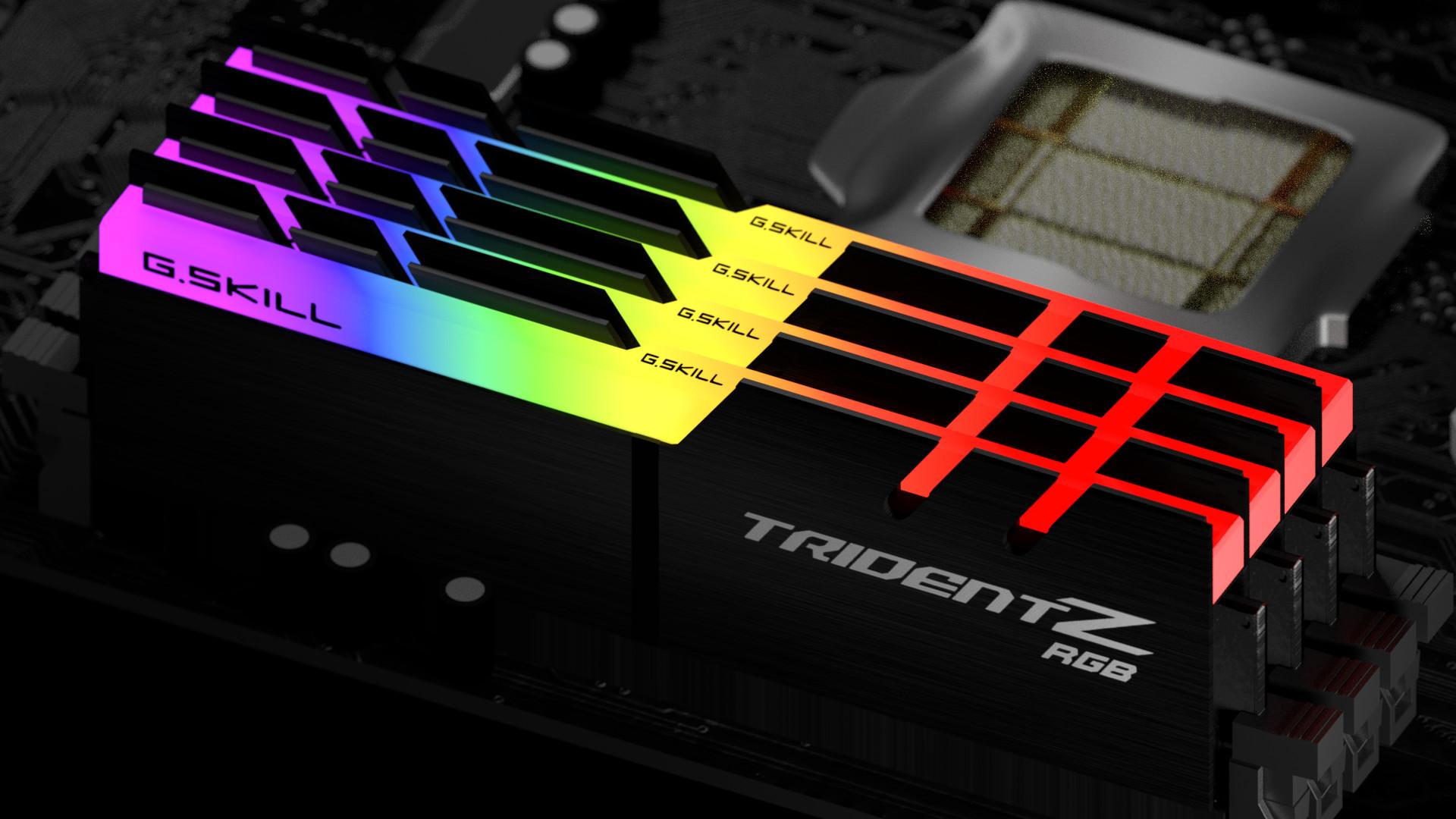 MODULO 8GB (3200 MHZ) TRIDENT Z RGB - GSKILL