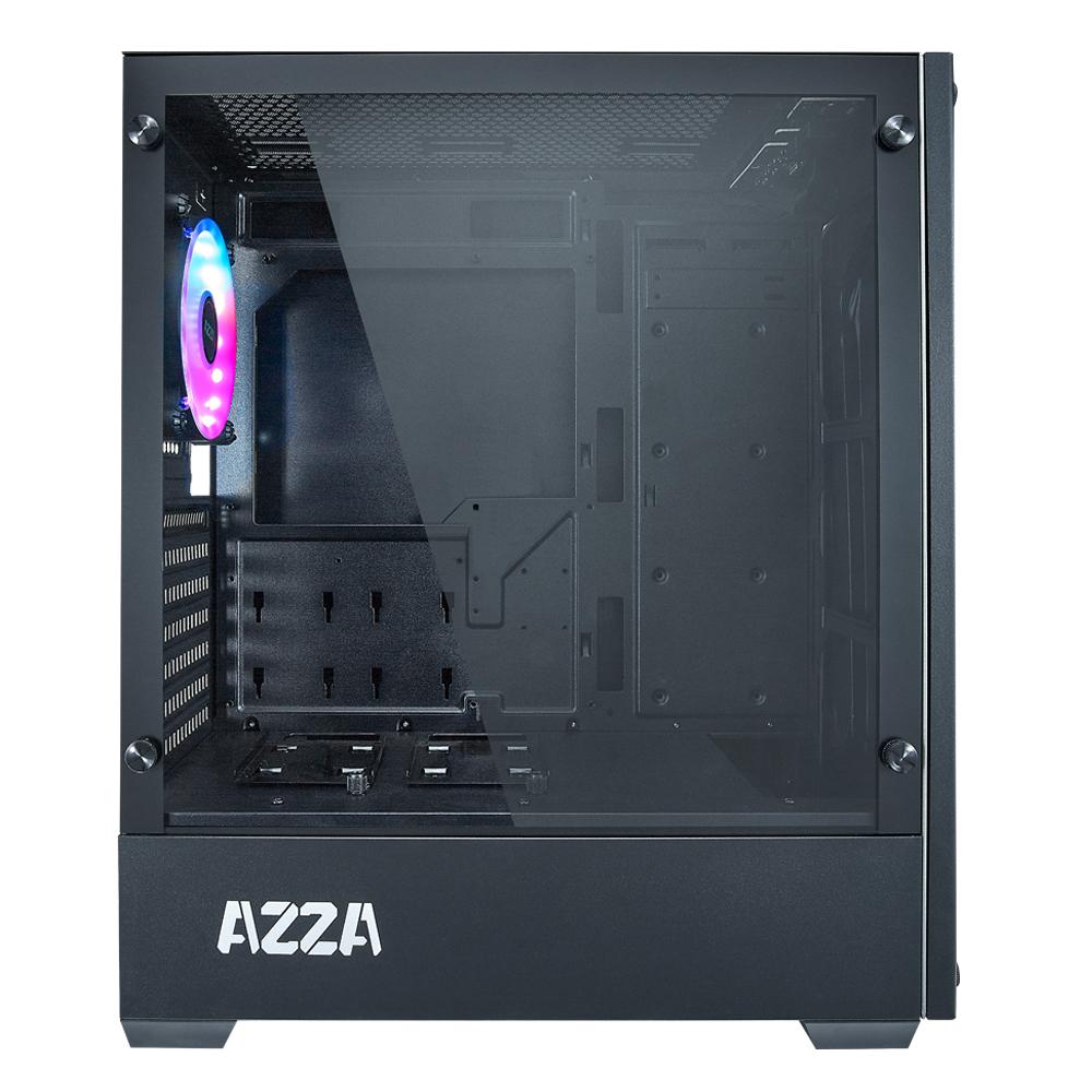 APOLO BLACK + 1 FAN RGB - AZZA