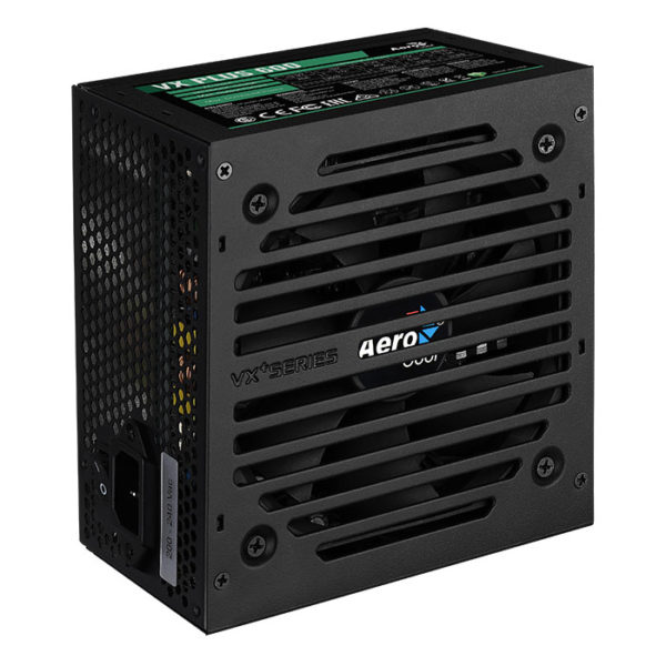Fuente Atx Real 600W Aerocool Vx600 Plus