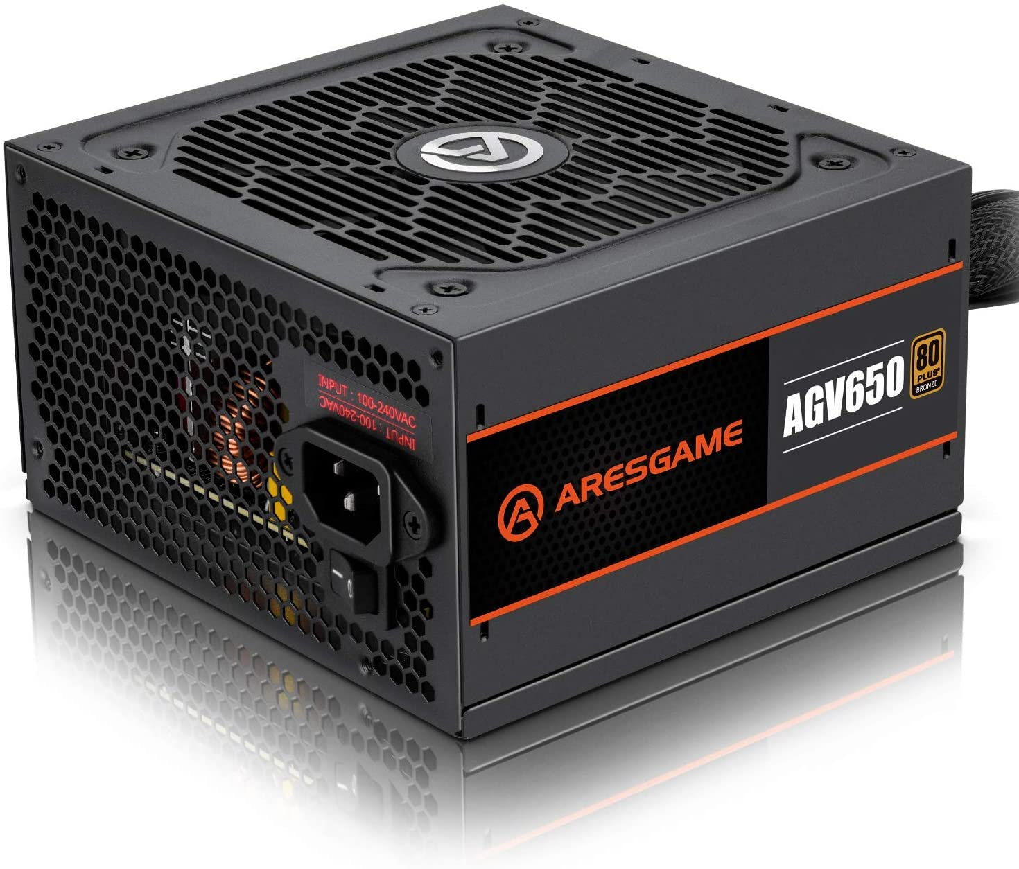FUENTE REAL 650W 80 PLUS BRONZE - ARES GAME