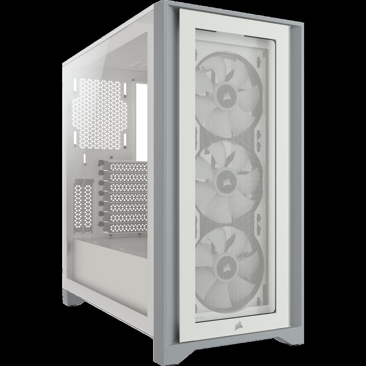 ICUE 4000X WHITE +3 FAN RGB - CORSAIR