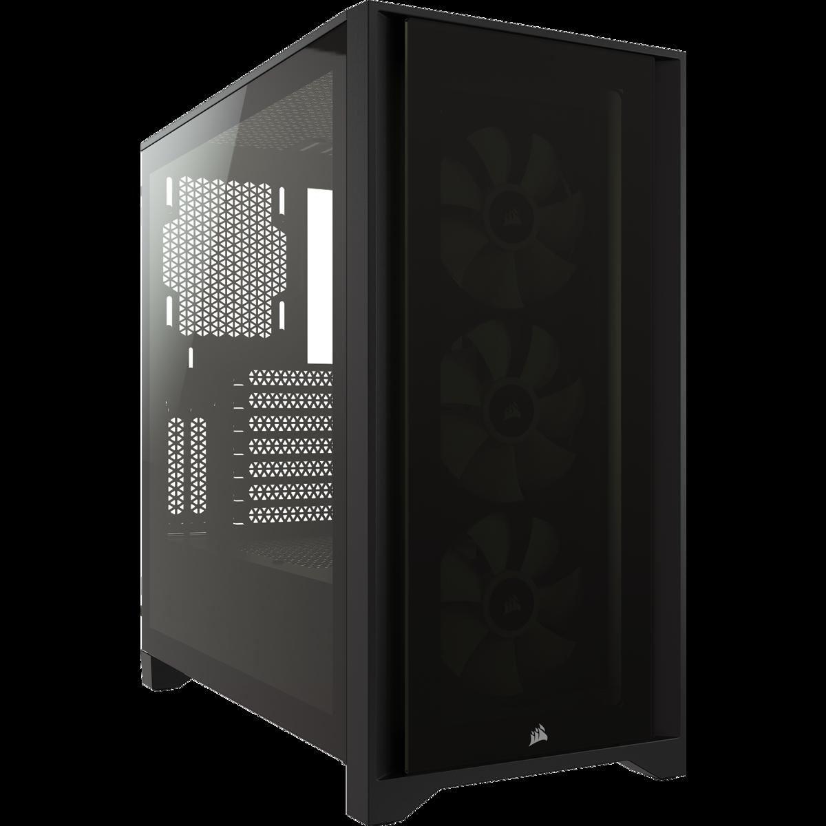 ICUE 4000X BLACK +3 FAN RGB - CORSAIR
