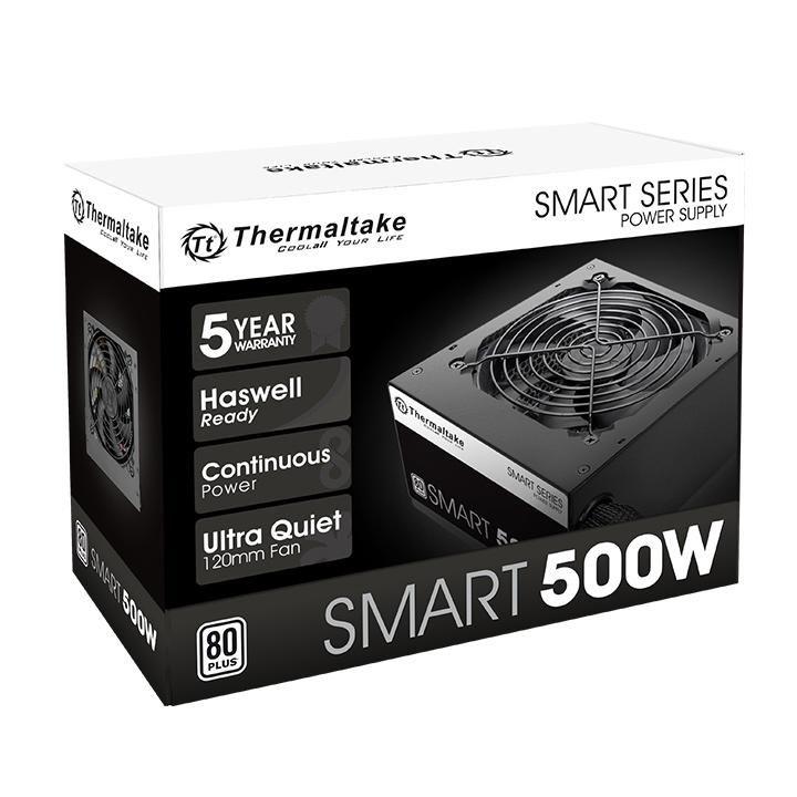 FUENTE REAL 500W 80P SMART - THERMALTAKE