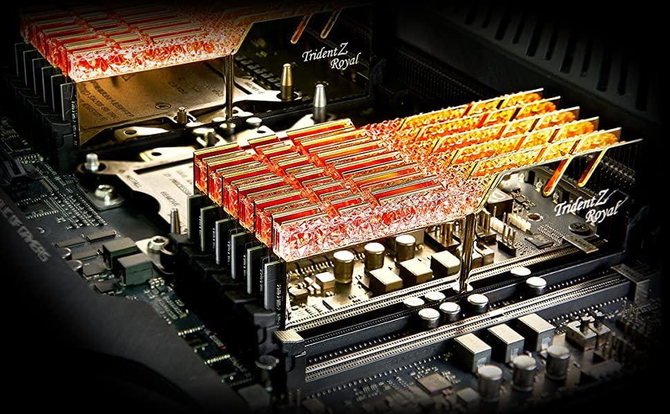 MODULO 8GB (3200 MHZ) ROYAL SILVER RGB - TRIDENT Z