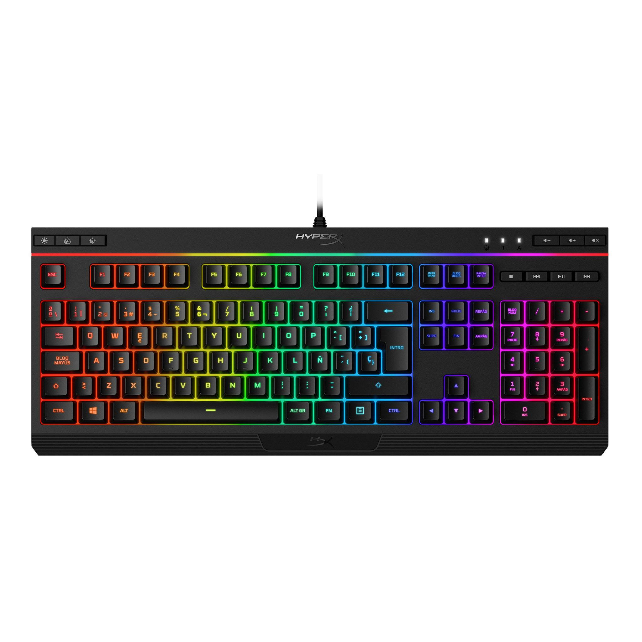 TECLADO ALLOW CORE RGB - HYPERX