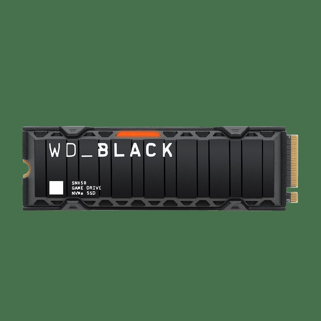 SOLIDO (M2) NVMe 500GB BLACK SN850 - WESTERN DIGITAL