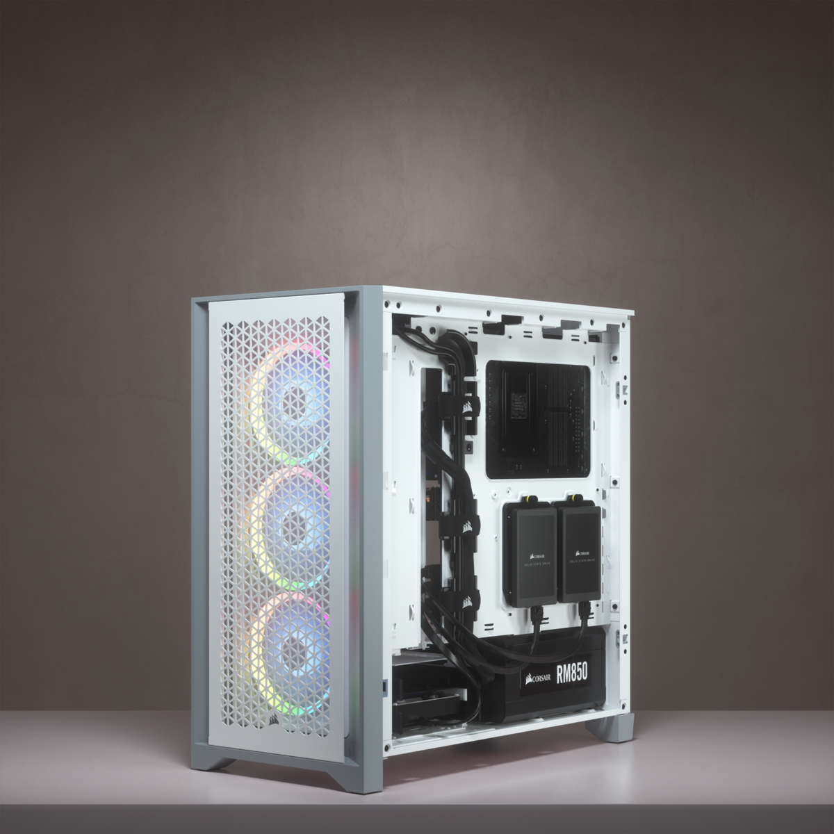 4000D AIRFLOW WHITE +2 FANS - CORSAIR