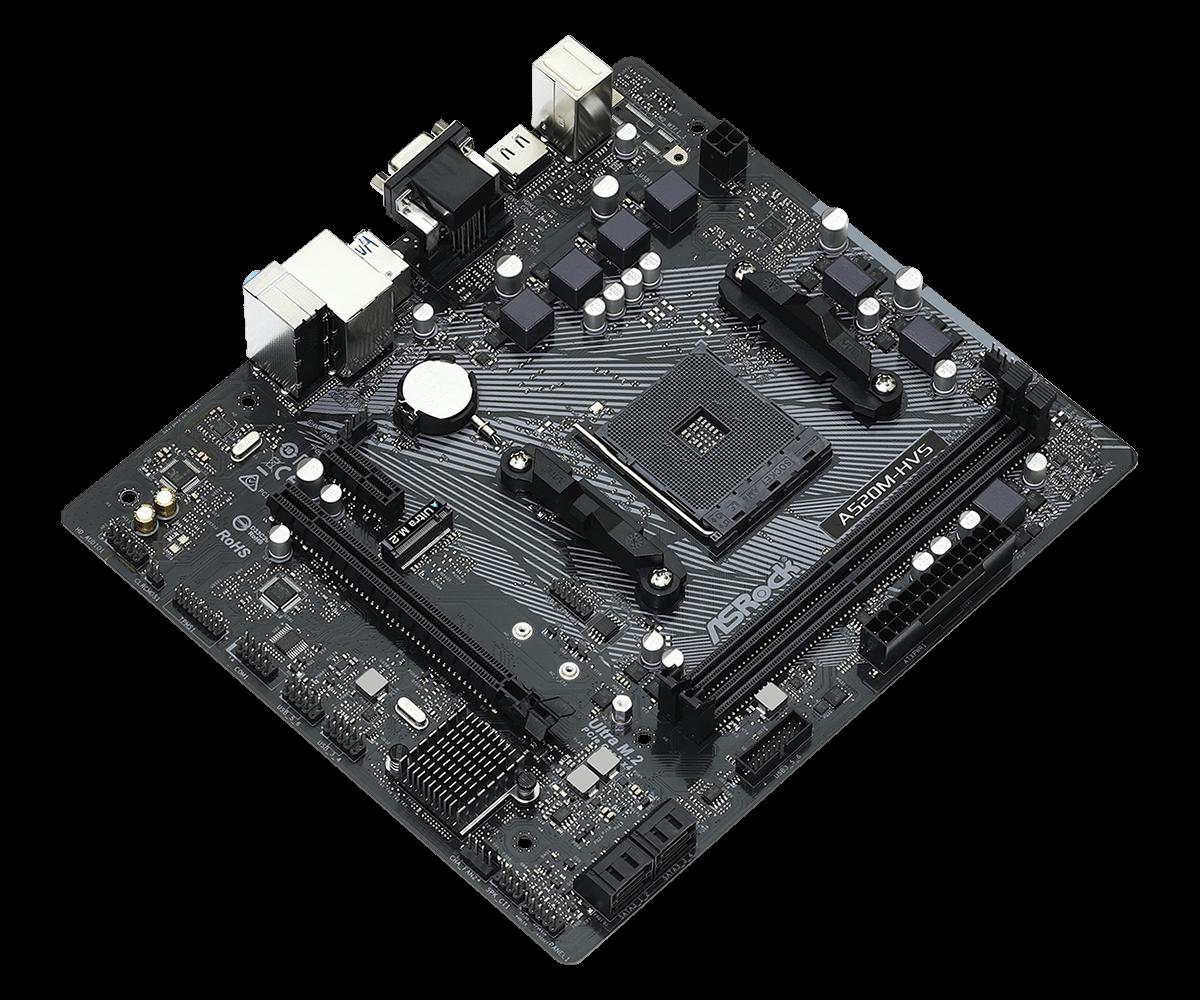 A520M-HVS  - ASROCK / AMD RYZEN
