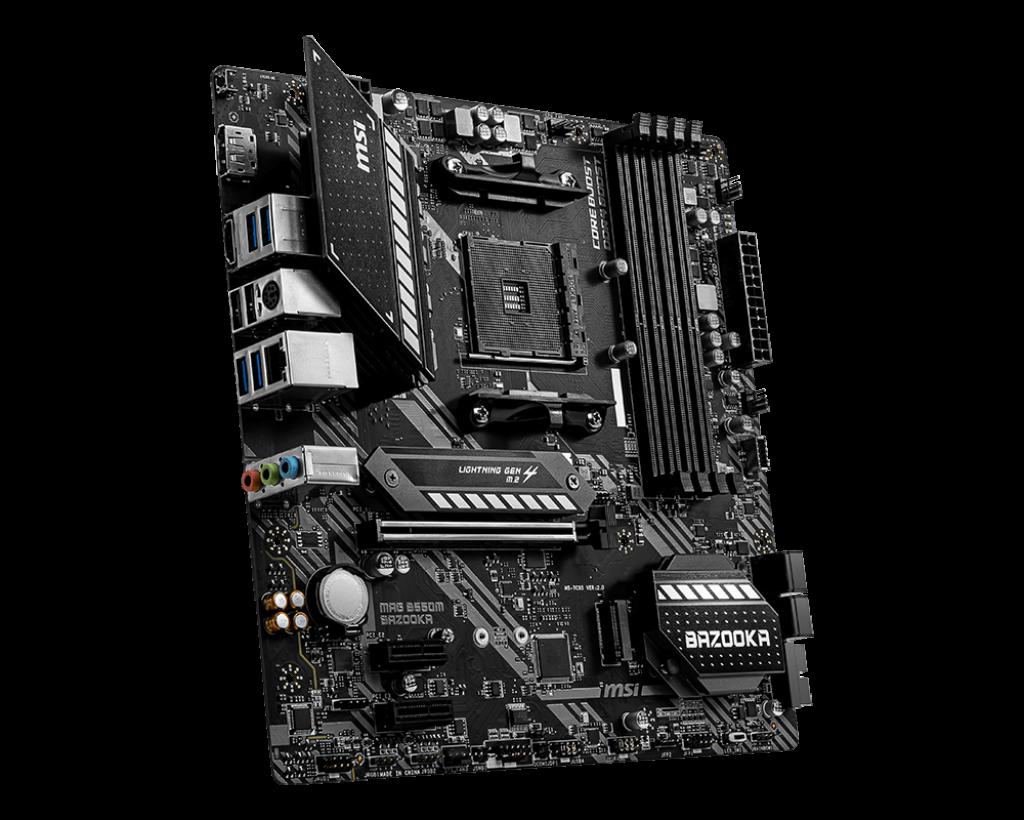 B550M BAZZOKA - MSI / AMD RYZEN