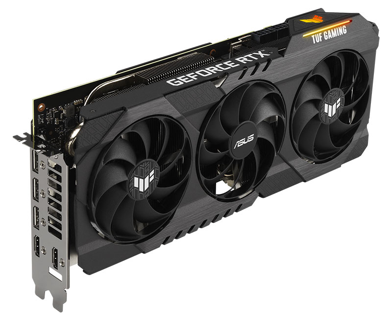RTX 3060 12GBS TUF GAMING 3 FANS - ASUS