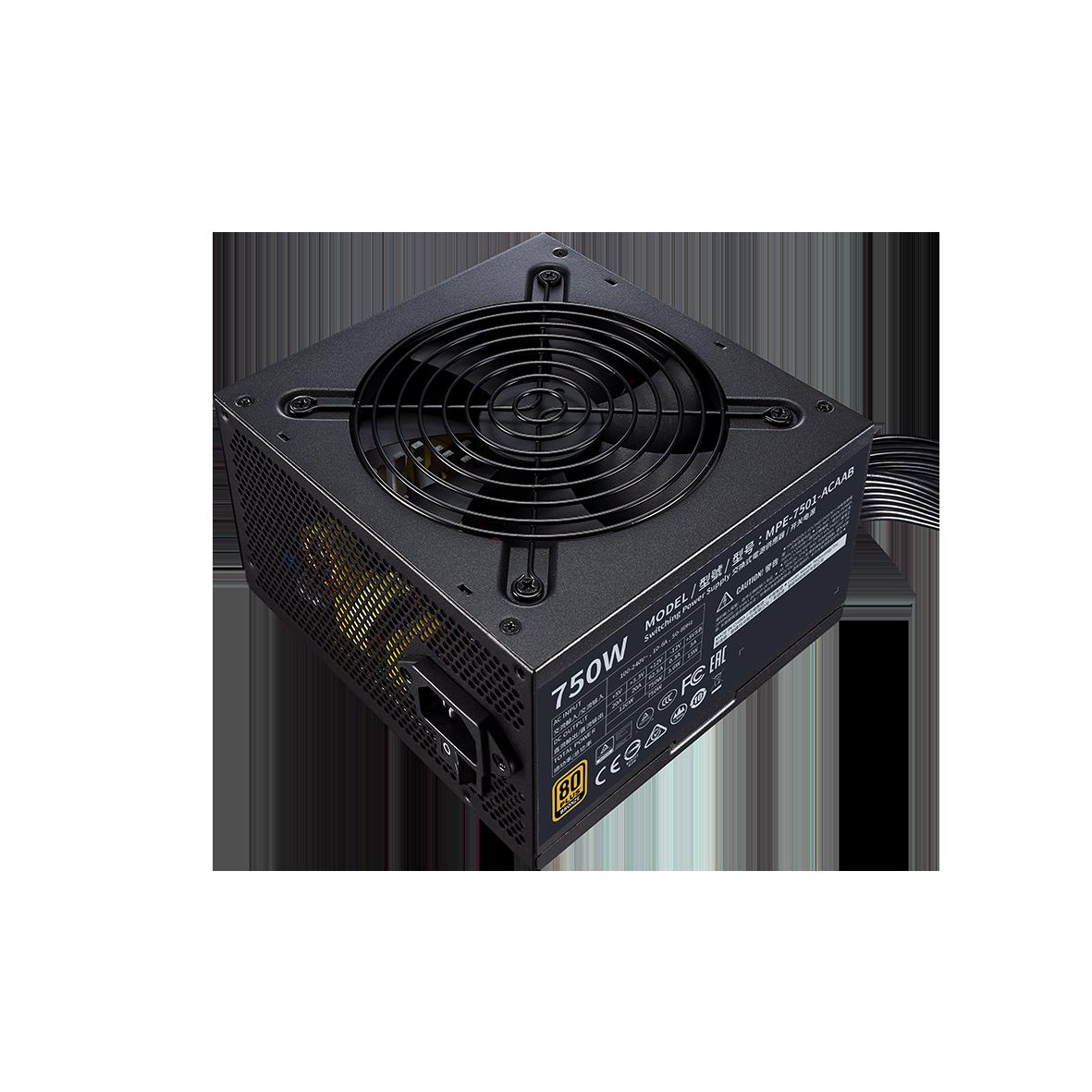 FUENTE REAL 750W 80P BRONZE V2 - COOLER MASTER