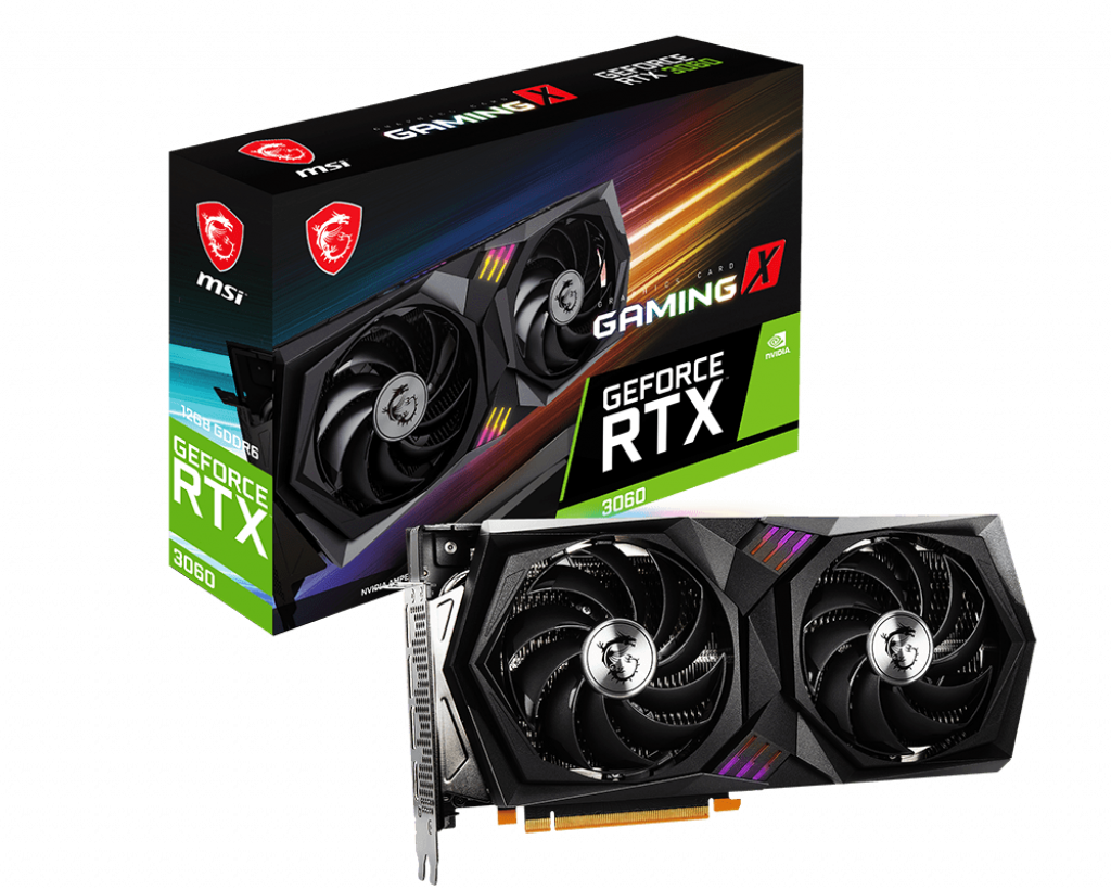 RTX 3060 GAMING X RGB 12GBS - MSI