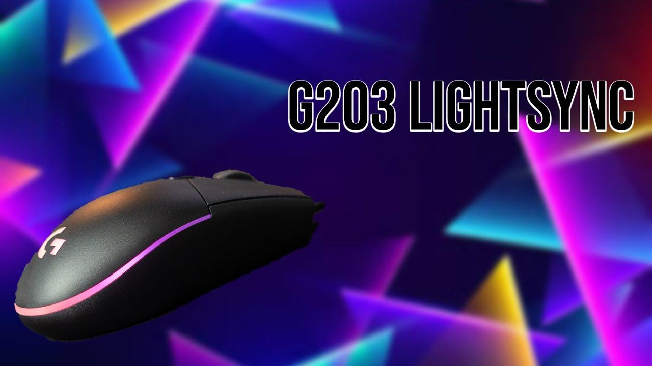 G203 LIGHTSYNC RGB COLORS - LOGI