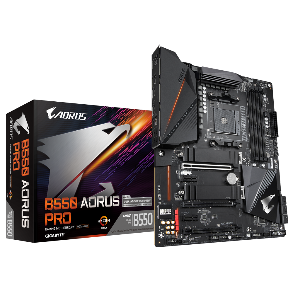 B550 AORUS PRO - GIGABYTE - AMD RAZEN