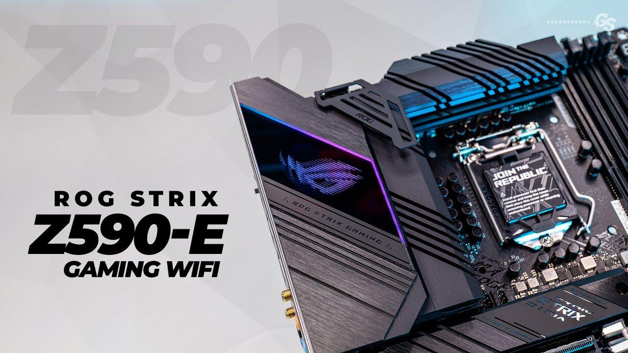 Z590-E ROG STRIX WIFI - ASUS / INTEL GEN 10 Y 11