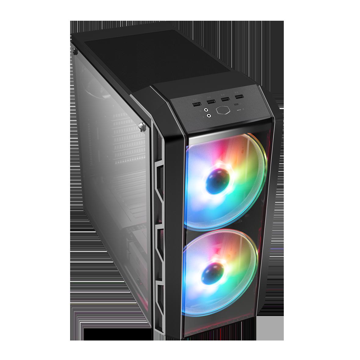 H500 V1 + 2 FANS ARGB - COOLER MASTER