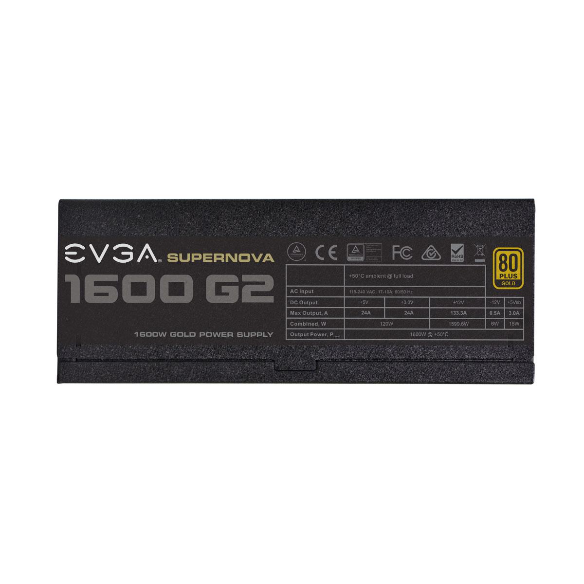 FUENTE REAL 1600W SUPER NOVA GOLD - EVGA